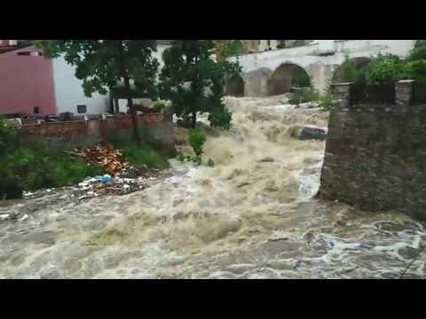 Povodeň Český Krumlov - 2.6.2013