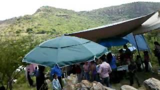 Ayotlan Jalisco dia de campo 2010 llegando al Cerro