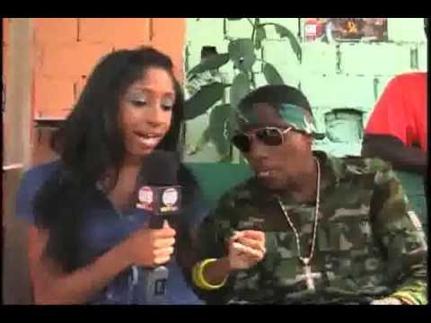 BET - Vybz Kartel Interview at Last Man Standing video shoot