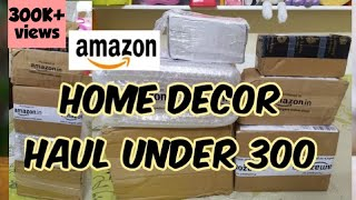 Amazon home decor haul / unboxing and product review / Under 300