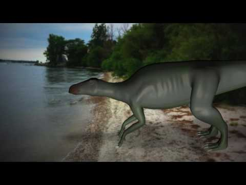 edmontosaurus animation test