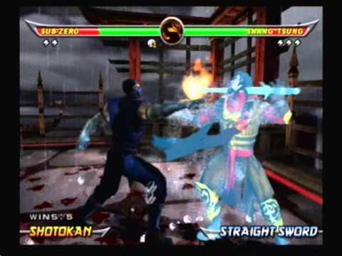 Mortal Kombat Armageddon-Sub-Zero Arcade Ladder