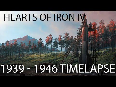 Hearts of Iron IV - 1939 / 1946 Timelapse