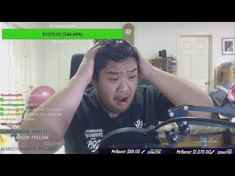 Donating $10,000 To Random Twitch Streamers