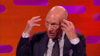 The Graham Norton Show S20 E19 Hugh Jackman, Sir Patrick Stewart, Sir Ian McKellen and James Blunt.