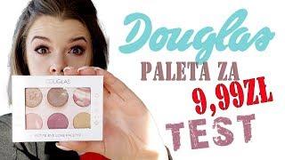 PALETA Cieni za 10zł z DOUGLAS TEST