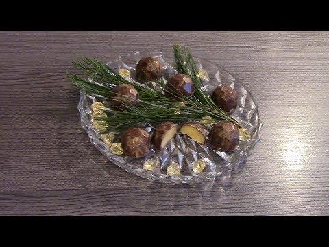 Корпусные конфеты с яичным ликером