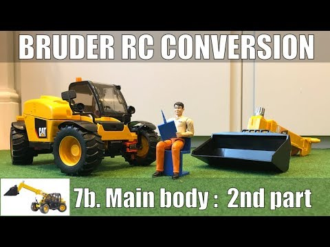 Bruder CAT Telehandler Pt7b: Body 2nd Part