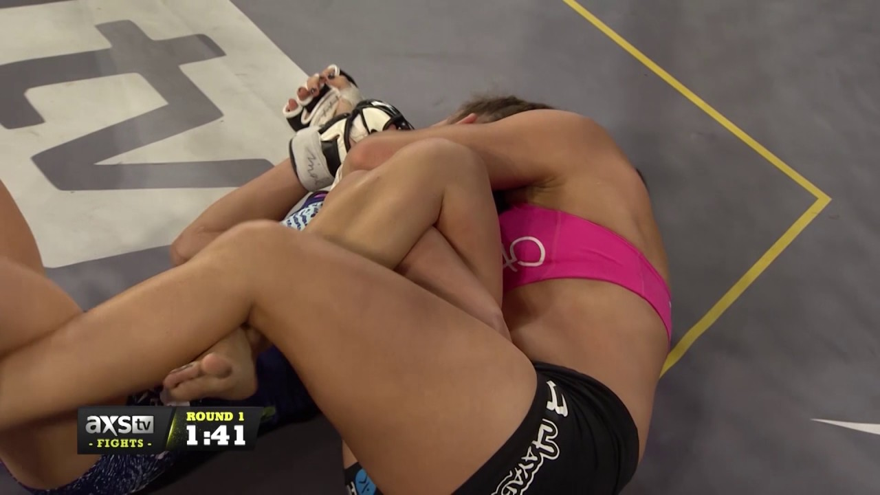 Mackenzie Dern makes women's UFC history with submission of ...