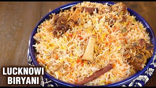 Lucknowi Mutton Biryani | Goat Meat Biryani Recipe | Dum Biryani | Biryani Recipe By Varun Inamdar