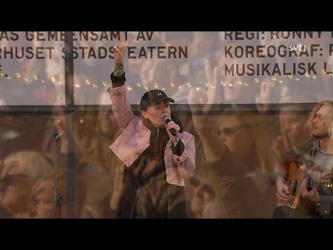 Miriam Bryant - Ett Sista Glas (Live Sergels Torg, Stockholm 170409)