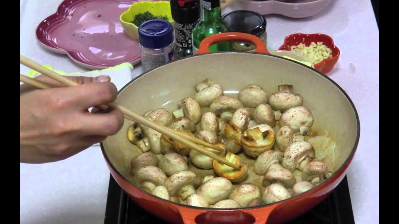 料理2012 12 22 安安老師 法式芥末醬燒雞@新竹新光三越LE CREUSET - YouTube