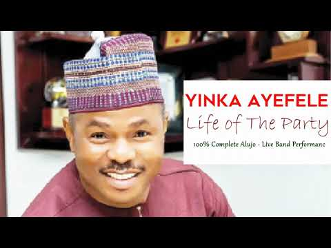 Download Yinka Ayefele Life of the Party - Live Band Performance - Tungba Classics #Audio