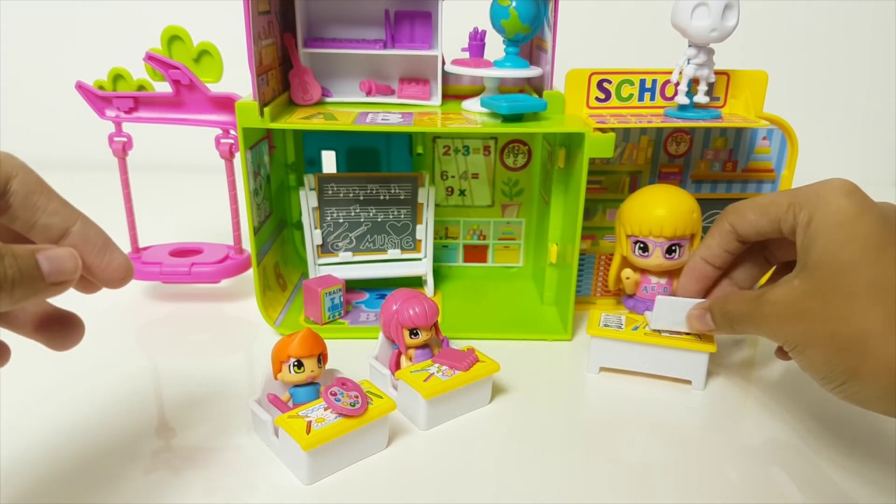 [ NEW ] Pinypon Back to School Playset