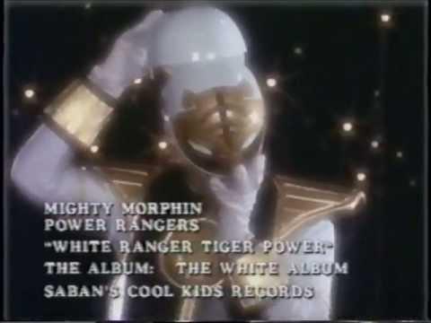 Mighty Morphin Power Rangers Quot White Ranger Tiger Power