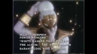 "Mighty Morphin Power Rangers ""White Ranger Tiger Power"" Music Video"
