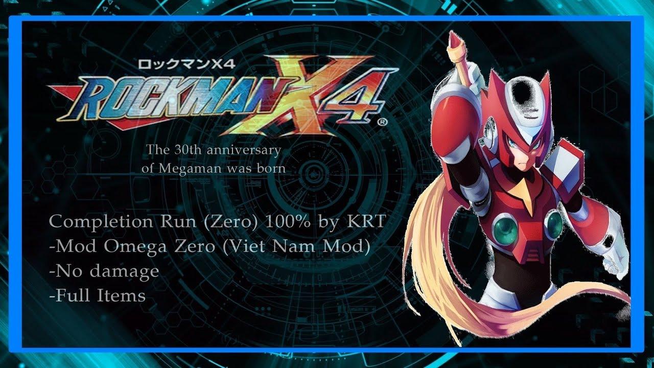 [VietNam Mod] Rockman X4 (Omega Zero) - 100% [Nodamage]