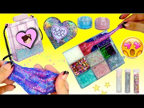 the-best-slime-kit-ever---glam-goo-deluxe-toy-review---slime-purse-&-storage