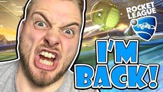SquiddyPlays - ROCKET LEAGUE! - I'M BACK!!