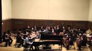 Rachmaninov Piano Concerto 2, I. Moderato, Connor Mautner