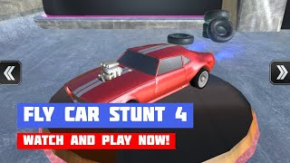 Fly Car Stunt 4 · Game · Gameplay