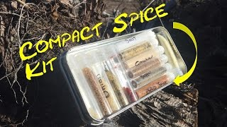 bushcraft spice kit tin camping survival traditional outdoors camp cooking