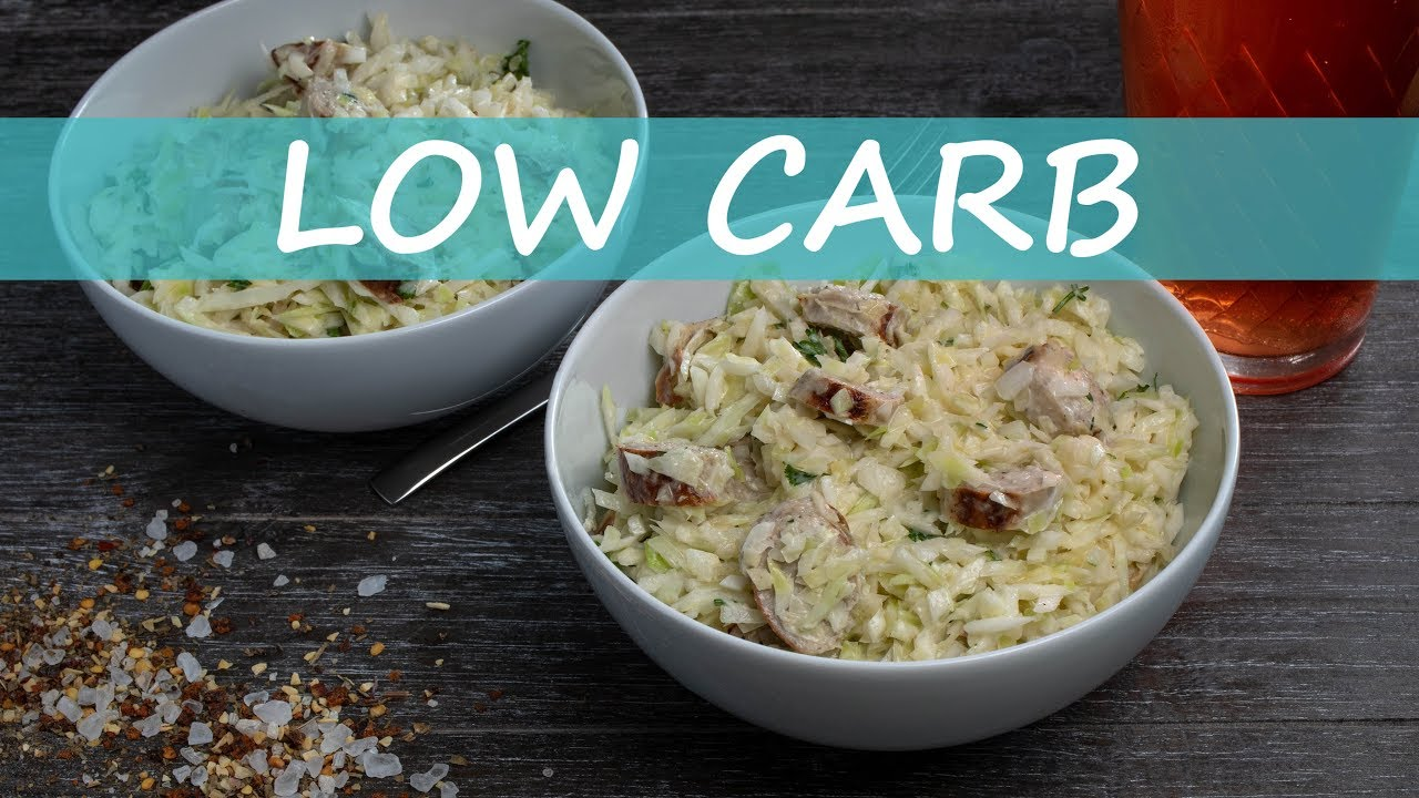 Bratwurstsalat - Low Carb