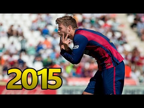 Gerard Piqué - Skills 2014/2015 HD