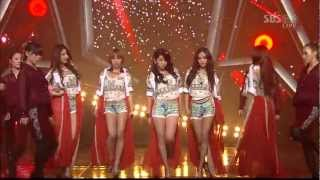 4minute - Volume Up Inkigayo 2012 05 13