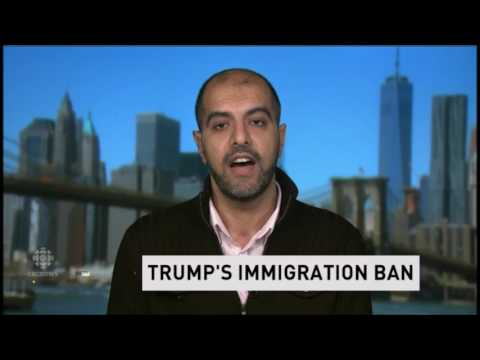 Trump Muslim Ban & His Impact On American Muslims - Haroon Moghul Discusses   Refugees Immigration