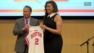 Marisa Moseley Introductory Press Conference (4/18/2018)