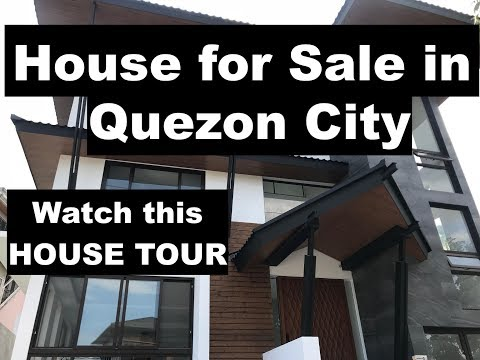 Quezon City House For Sale - A Modern Asian Luxury Home In Tivoli Royale Is In The Market