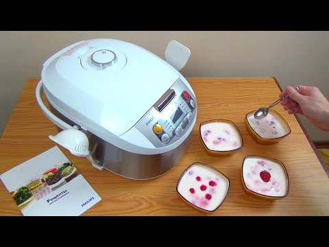 Как приготовить йогурт в мультиварке филипс 3039 рецепты