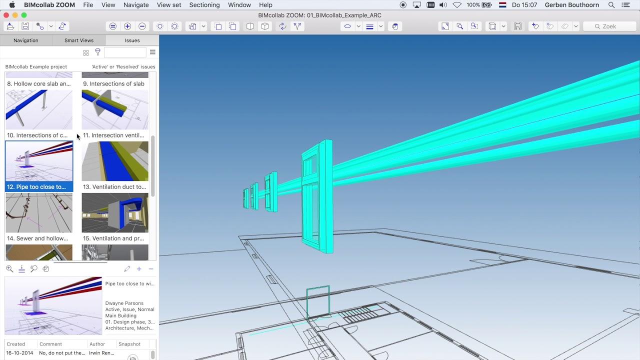 bimcollab zoom tutorial 03 usage of automated floorplan youtube
