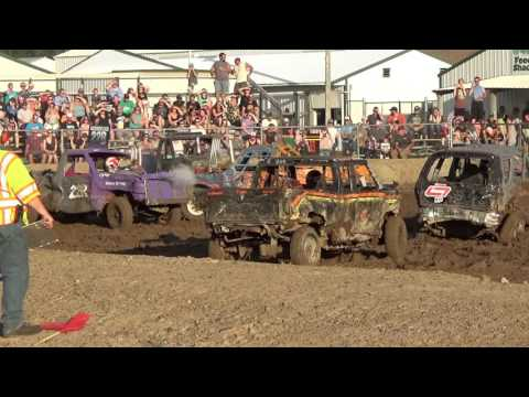 Chisago county fair (rush city) Demo derby 2017