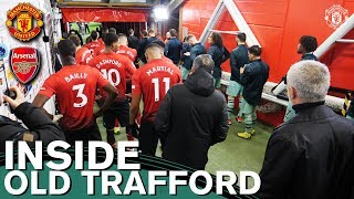 Inside Old Trafford | Manchester United v Arsenal | Tunnel Cam, Behind the Scenes, Tyson Fury & More