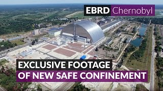 EXCLUSIVE: Latest drone footage of Chernobyl NSC