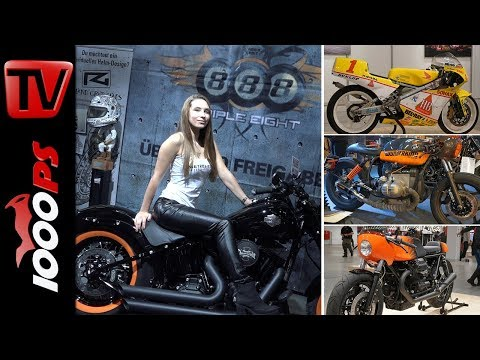 Custombike Show Bad Salzuflen 2017 - 1000 mächtige Bikes - Eventvideo