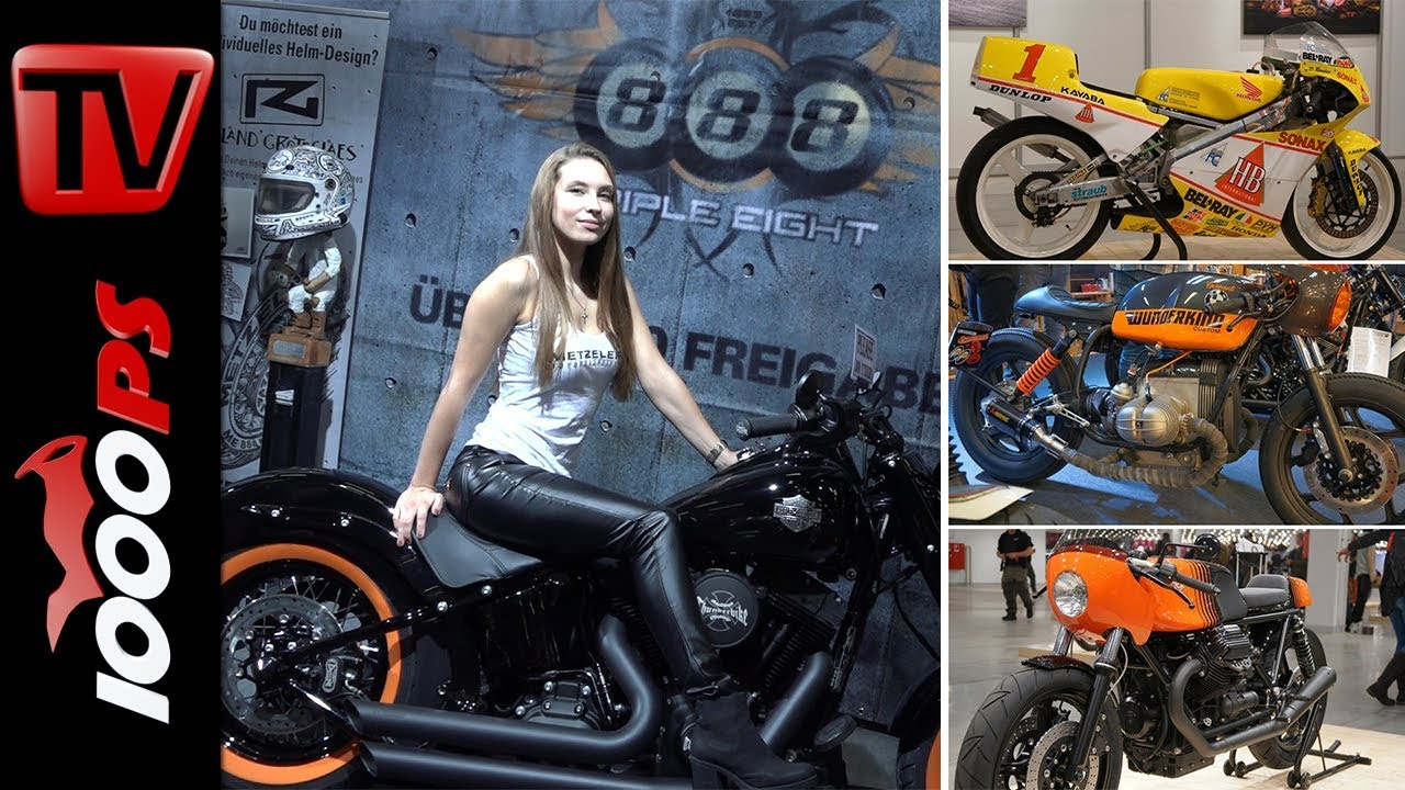 Custombike Show Bad Salzuflen 2017 1000 M Chtige Bikes