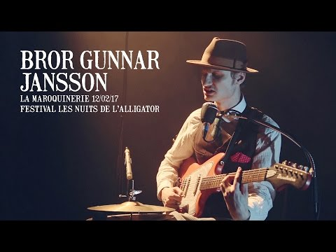 Bror Gunnar Jansson live at La Maroquinerie