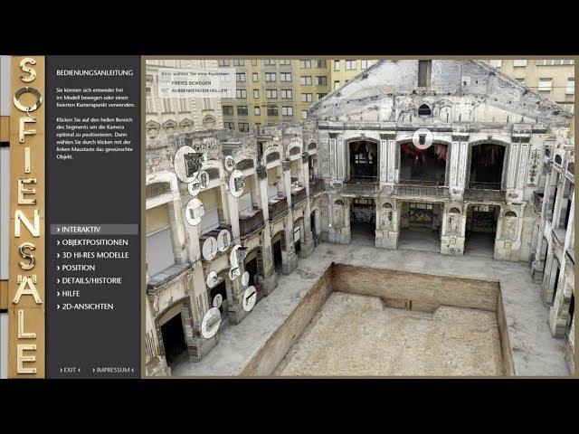 Die Sofiensäle – die Rekonstruktion