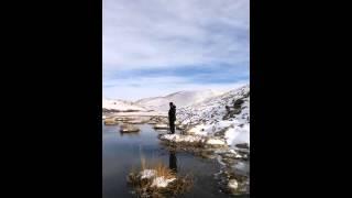 Tekman çevirme köyünde kuzenlerle balık avı.
