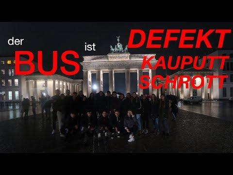 Klassenfahrt-BUS Geht KAPUTT!! 🔥 Berlinfahrt 2/2   Vlogeschwister