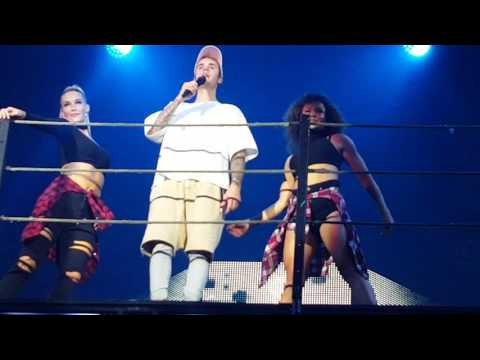Justin Bieber - Company FULL HD (live) @ Stadthalle Vienna 08.11.2016