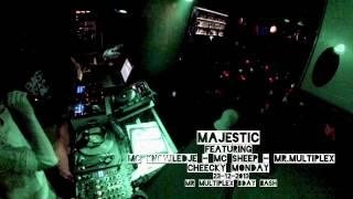 Majestic feat. Mr.Multiplex (BDAY BASH), MC Sheep & MC Knowledje @ Cheecky Monday