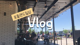[미국일상] 포틀랜드 Vlog - Shake shack…