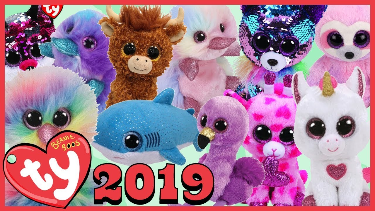 81baba88d9c New   Unreleased 2019 TY Beanie Boos List - YouTube