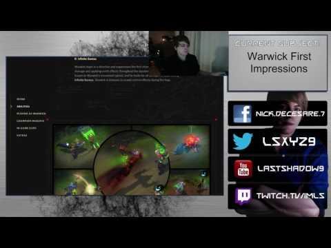 Warwick Remake - First Impression