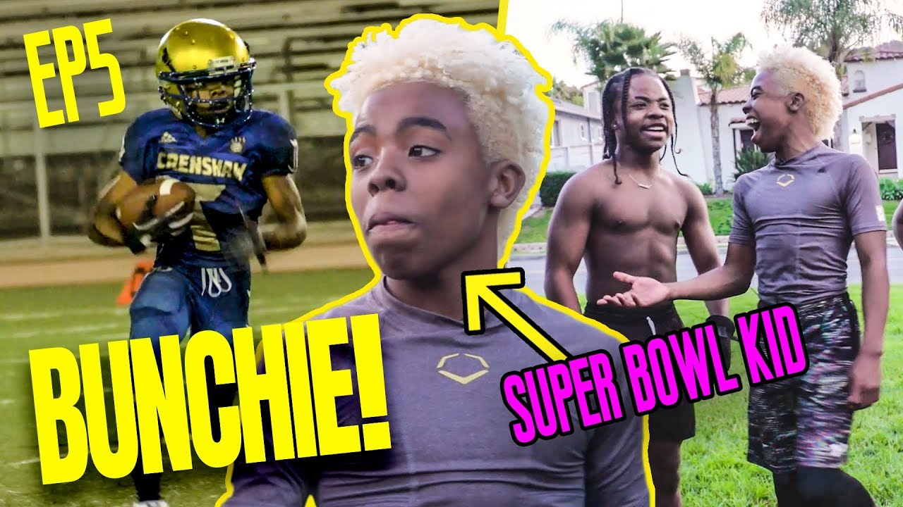 Download 13 Year Old Bunchie Young Is BACK! Prodigy Trains With Football Guru & Heads To The SUPER BOWL!?