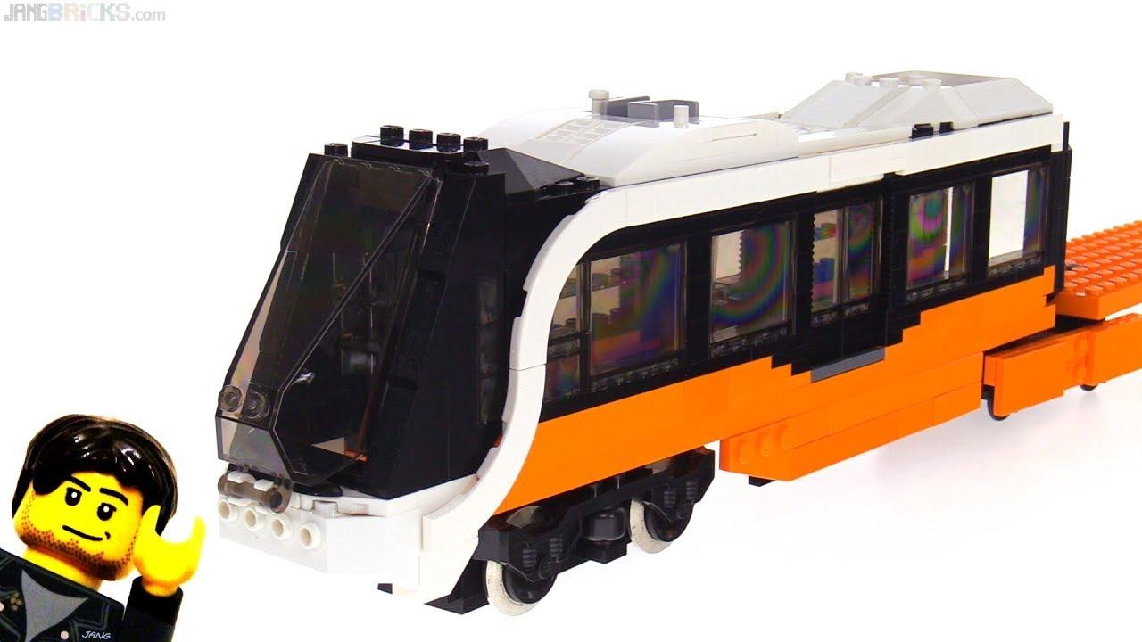 Work In Progress: New custom LEGO passenger train MOC